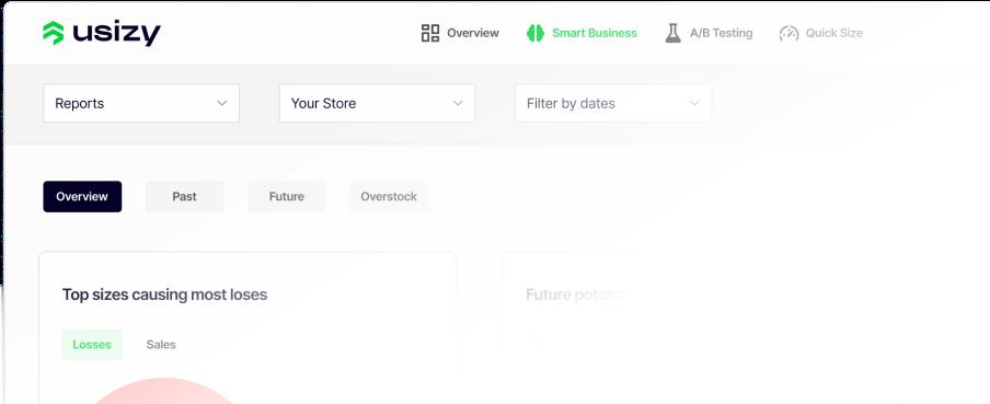 Usizy - One complete platform - Size, stock, price, logistics